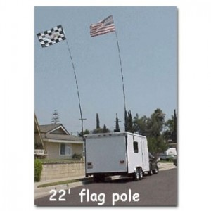22'_Telescoping_Flag_Pole_With_Remote Control