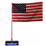 HD 6' Super LED Whip_American Flag