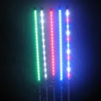 Led flag pole